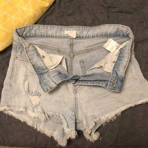 h&m size 6 shorts